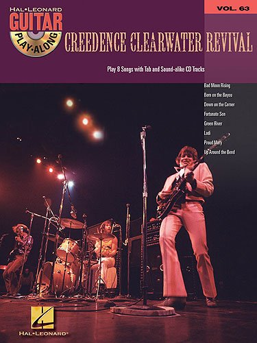 Creedence Clearwater Revival (+audio access): guitar playalong vol.63 songbook vocal/guitar/tab