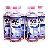 Spray Max barniz de 2K 6x 400ml aerosol (brillante Original 680061K680061–6
