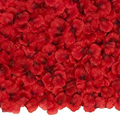 Highest quality polyester silk material will not fade from sun or liquid. It appears extremely realistic thus work great for your party or wedding decoration. Weddings, valentine's day, honeymoons, anniversaries, birthdays, and any occasion you want ...