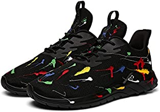 Soulsfeng Running Shoes Men Sneakers Fashion Lightweight Breathable Mesh Gym Training Shoes Traveling Sport Shoes(US11=EUR45)