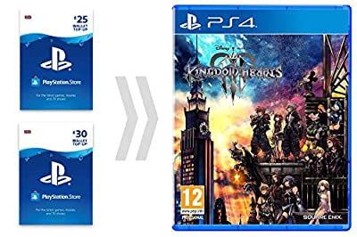 PSN Wallet Top-Up for Kingdom Hearts III [PS4 Download Code - UK Account]