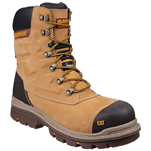 CAT Footwear Premier - Botas de seguridad para hombre de 20 cm Wr Tx Ct S3 HRO Src, color Marrón, talla 40 EU