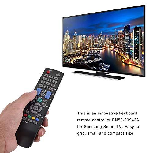 Pangding Afstandsbediening, Vervanging Smart TV Afstandsbediening Televisie Controller Compatibel met Samsung BN59-00942A