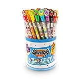 Scentco Graphite Smencils Cylinder - HB #2 Scented Pencils, 50 Count