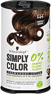 Schwarzkopf Simply Color Permanent Hair Color, 5.65 Truffle Brown