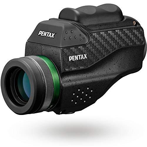 Pentax 63620 Monocular VM 6x21 WP Fácil de Usar con una Sola Mano Visión Brillante y Clara con Alto Contraste y excelente Rendimiento óptico Impermeable hasta 1 m Distancia mínima de Enfoque de 70cm