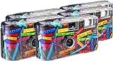 TopShot I mog di schwarz Einwegkamera / Hochzeitskamera (27 Fotos, Blitz, 5-er Pack) -