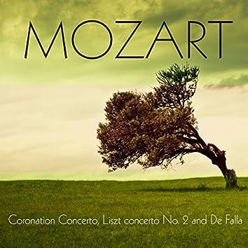 Mozart Coronation Concerto, Liszt concerto No. 2 and De Falla