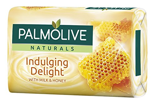Palmolive Cremeseife Milch & Honig , 3er Pack (3 x 90 g)