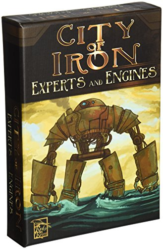 City of Iron: Experts and Engines Board Game