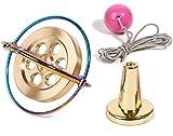 Joytech Precision Gyroscope Kill Time Metal Anti-Gravity Spinner Balance Toy Colorful JA06