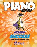 Piano Heroes: Mission Success Sight Reading Activity Book: 1