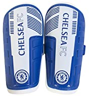 Size XS - Youth This shin pad provides protection with thick moulded plastic shell A great way to show your support for your favourite team Official licensed product Makes a great gift for any Chelsea Football Club fan