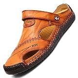 LIEBE721 Sandales d'été durables pour Hommes pour Voyager au Printemps la Marche Chaussures