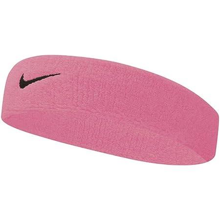 Nike Swoosh Bandeau Unisexe pour Adulte Rose (Gaze/Gris Huile) Taille Unique