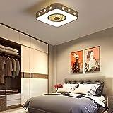 Il nuovo design: la luce del ventilatore vi darà una luce più naturale e naturale nella vostra casa, e sarà ovunque nella vostra casa, in modo che si può vedere il calore e conforto ovunque. Intelligent sorgente di luce LED: Risparmio energetico, alt...