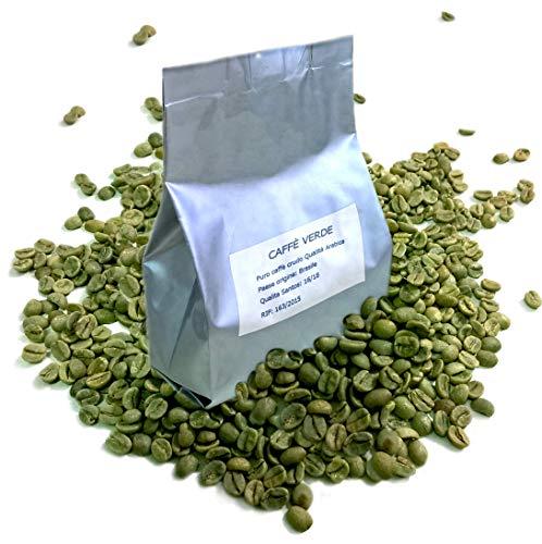 Flavordust Caffè Verde 1 Confezione da 250 g. Green Coffee per Tisane dimagranti