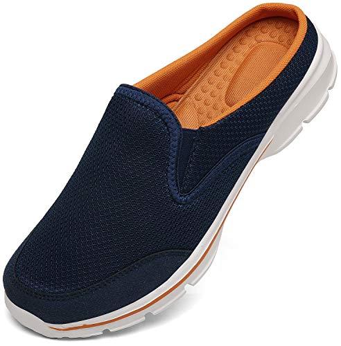 Zapatillas de Casa Mujer Hombre Zuecos de Algodón Comodas...