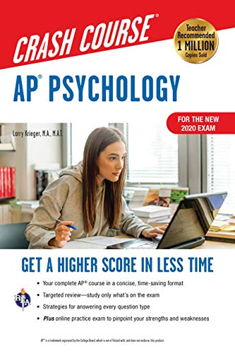 AP® Psychology Crash Course, Book + Online: Get a Higher Score in Less...
