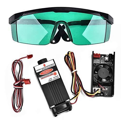 Vogvigo - Kit para máquina de CNC 3018 Pro, accesorios para fresadora de madera, módulo láser (2.5W)