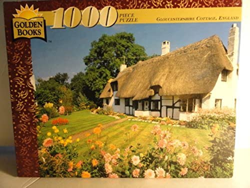 1000 Piece Puzzle - Gloucestershire Cottage, England by Golden Books