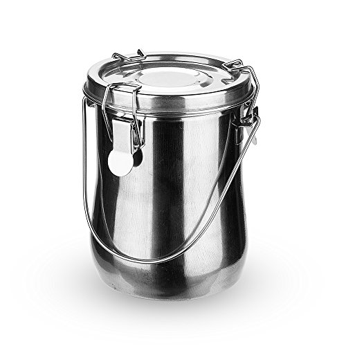 Arrtx Portable Stainless Steel Leak-Proof Premium Brush Washer with Lid and Filter Screen (Large)