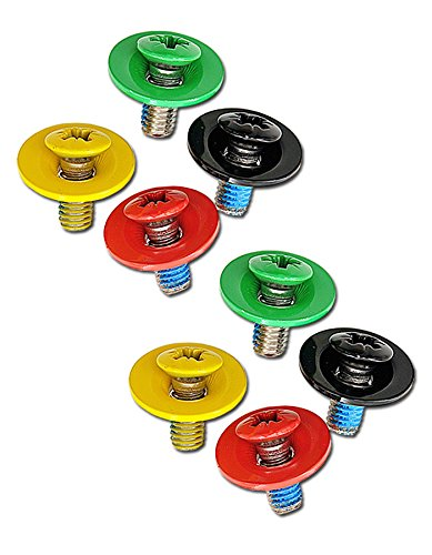 ELFGEN Snowboard Bindung SCREW SET Schraubenset multi