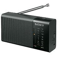 Sony handy portable radio ICF-P36: FM / AM / FM wide corresponding horizontal type black ICF-P36 B