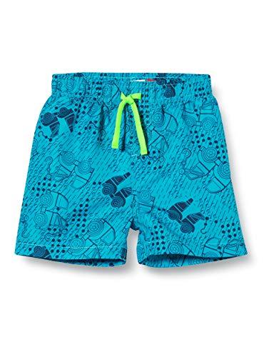 Lego Wear Baby-Jungen Lwpoul Badehose, Blau (Light Blue 532), (Herstellergröße:92)