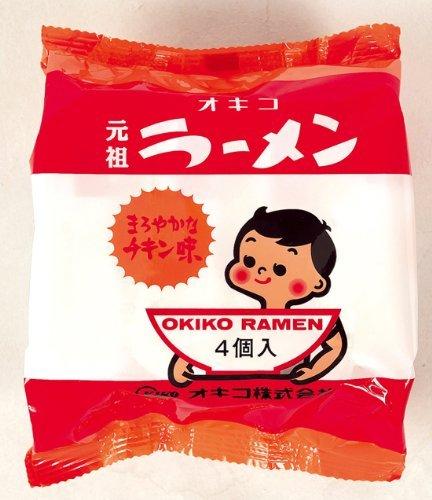 オキコラーメン1ケース(ミニラーメン30g×4個)×12袋