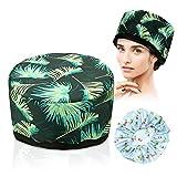 cura dei capelli, trattamento per capelli caldo luckyfine vapore portatile cappello di bellezza spa cappello vapore capelli nutrizionali modello blu calmo