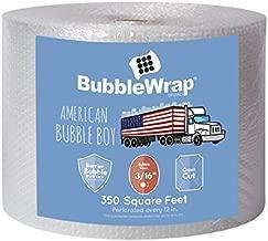 American Bubble Boy Bubble Wrap Official Sealed Air Bubble Wrap - 350 Feet X 3/16