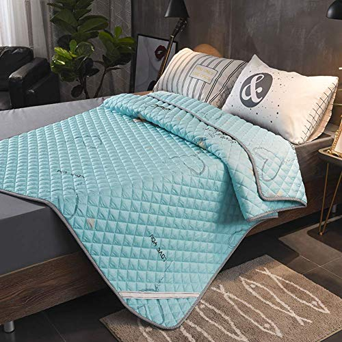 MWPO Tatami Mattress Washable Foldable 1.5m 1.8m Bed Double Pad By Anti-slip Bed Cushion Thin Bed-taobao-e 150x200cm(59x79inch)