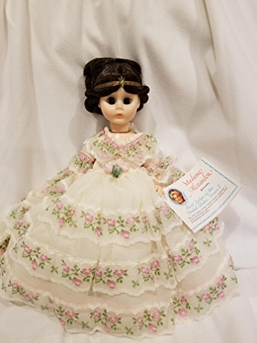 Madame Alexander #1510 - Vintage Julia Tyler Doll (1841-1845) - First Lady Collection Series II - Rare Yellow Dress - 13 Inches - OOP - Like New Doll - Very Rare - Collectible