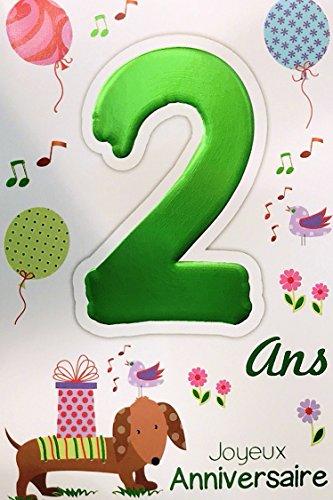 Age Mv 69 2006 Carte Joyeux Anniversaire 6 Ans Enfant Garcon Fille Motif Gateau 6 Bougies Papillons Papeterie Cartes Et Papier Cartonne