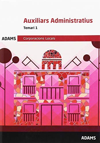 Temari 1 Auxiliars Administratius Corporacions Locals de Catalunya