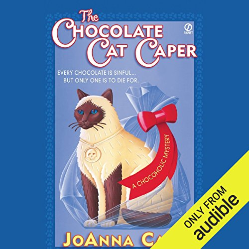 The Chocolate Cat Caper audiobook cover art
