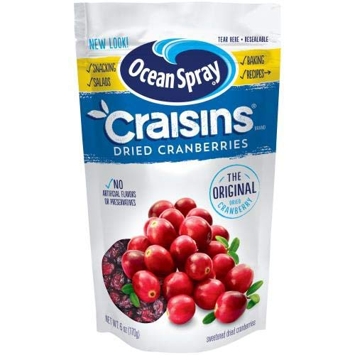 Ocean Spray, Craisins, Dried Cranberries, Original (Pack of 2)