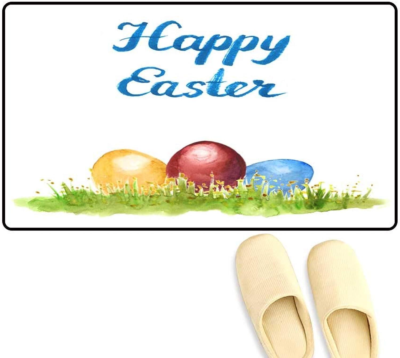 Door Mats for Inside Easter Eggs in Grass