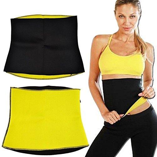 Choomantar Shop Unisex Hot Shaper Slimming Belt Fat Burn Belt Waist Slimming Belt For Men & Women (XXL Size)
