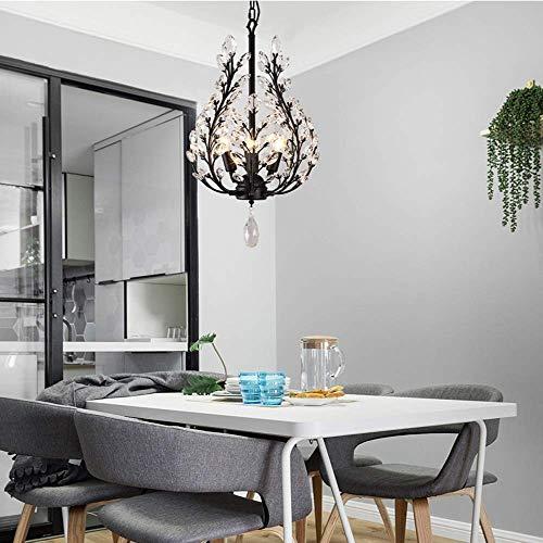 BXU-BG Sala de estar, dormitorio, restaurante minimalista y candelabros de hierro, 36 x 60 cm, hermoso