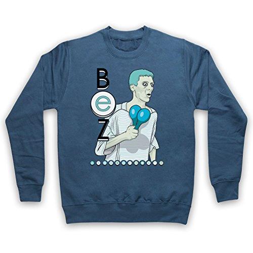 The Guns Of Brixton Happy Mondays Bez Sweat-Shirt des Adultes, Airforce Bleu, 2XL