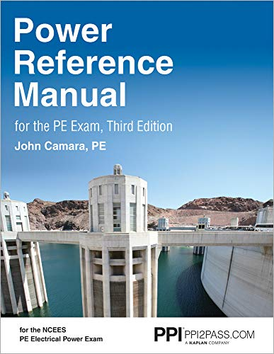 PPI Power Reference Manual for the PE Exam, 3rd Edition (Hardcover) – Comprehensive Reference Manu