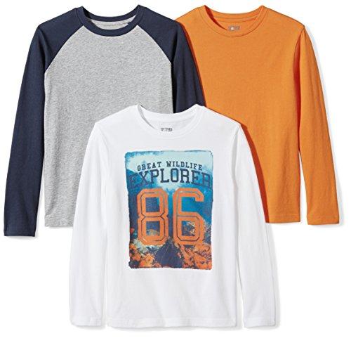 El Mejor Listado de Camisetas de manga larga para Niño - los preferidos. 3