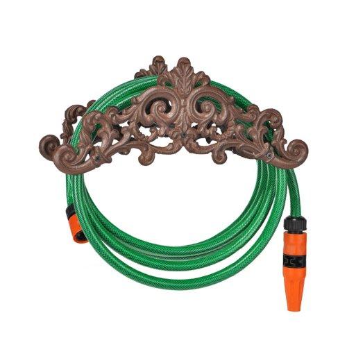 TP-Products - Soporte de pared para manguera (hierro fundido)