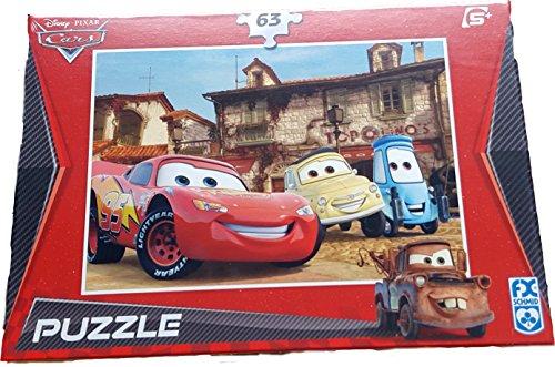 FX Schmid Disney Cars Puzzle - Lightning McQueen 63 Teile Puzzle