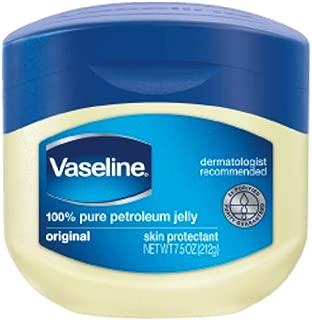 Vaseline, 100% Pure Petroleum Jelly, Original - 7.5 oz jar, Pack of 5