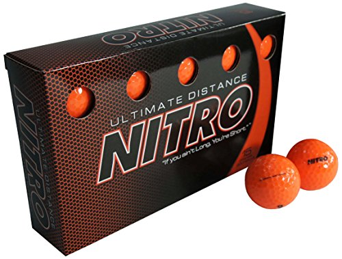 New Nitro Ultimate Distance Golf Ball (15-Pack)