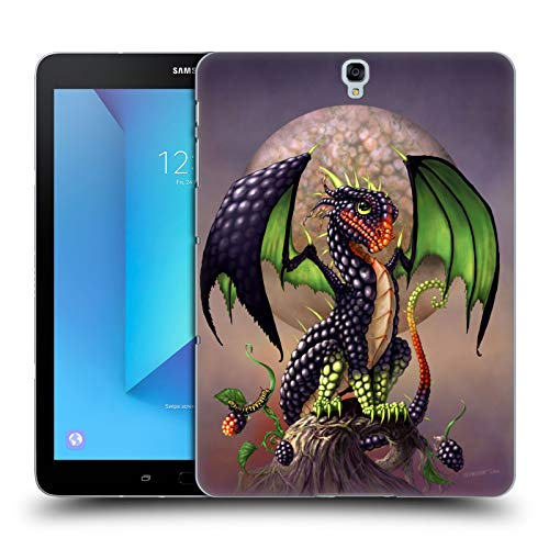 Head Case Designs Officially Licensed Stanley Morrison Berry Garden Dragons 3 Hard Back Case Compatible with Samsung Galaxy Tab S3 9.7