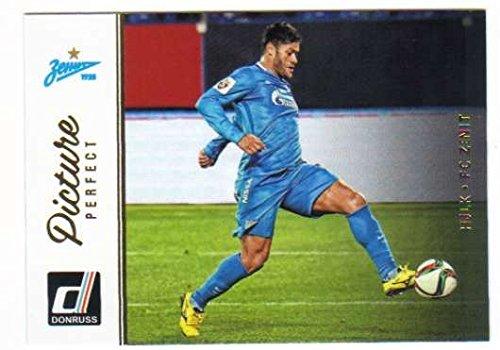 2016 Donruss Picture Perfect #37 Hulk FC Zenit Soccer Card